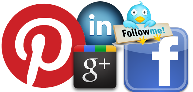 facebook google plus and pinterst marketing